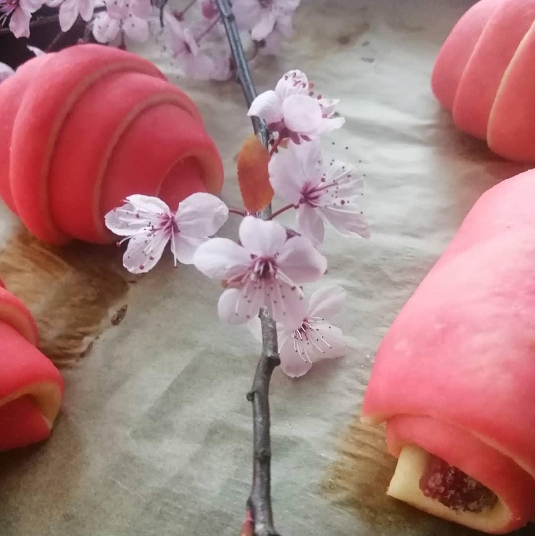 Cherry Croissants