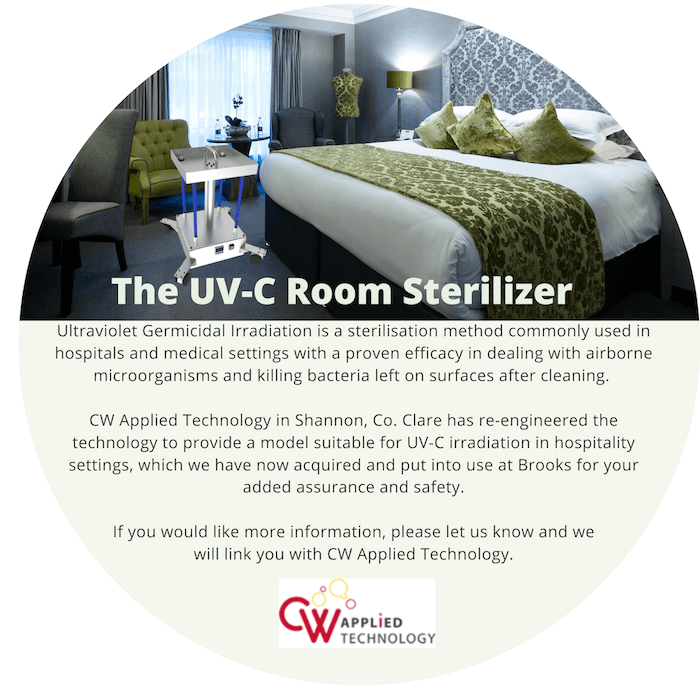 the uv c room sterilizer